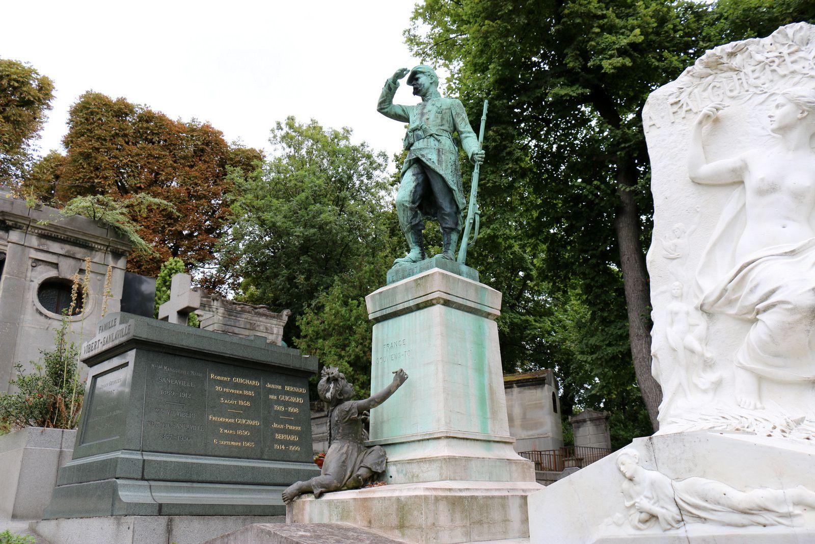 Sergent Hoff, cimetière du Père Lachaise