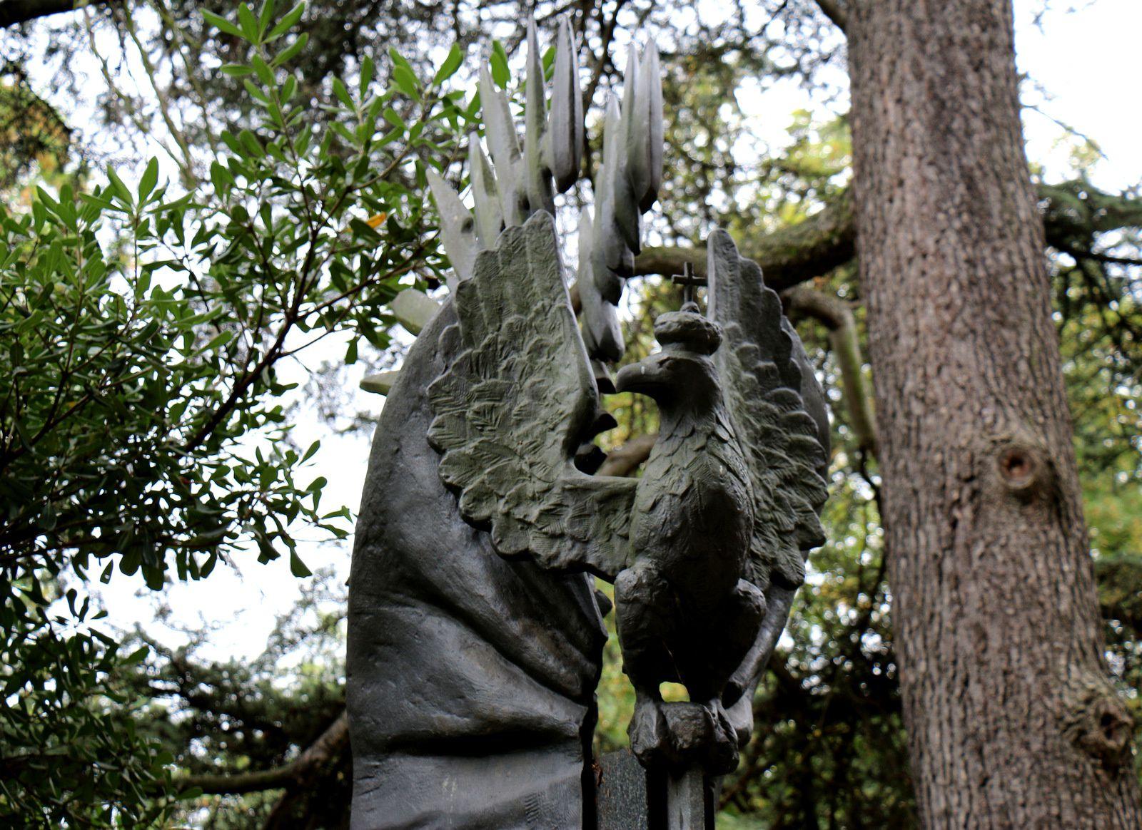 Monument aux Combattants polonais morts pour la France, Pére Lachaise
