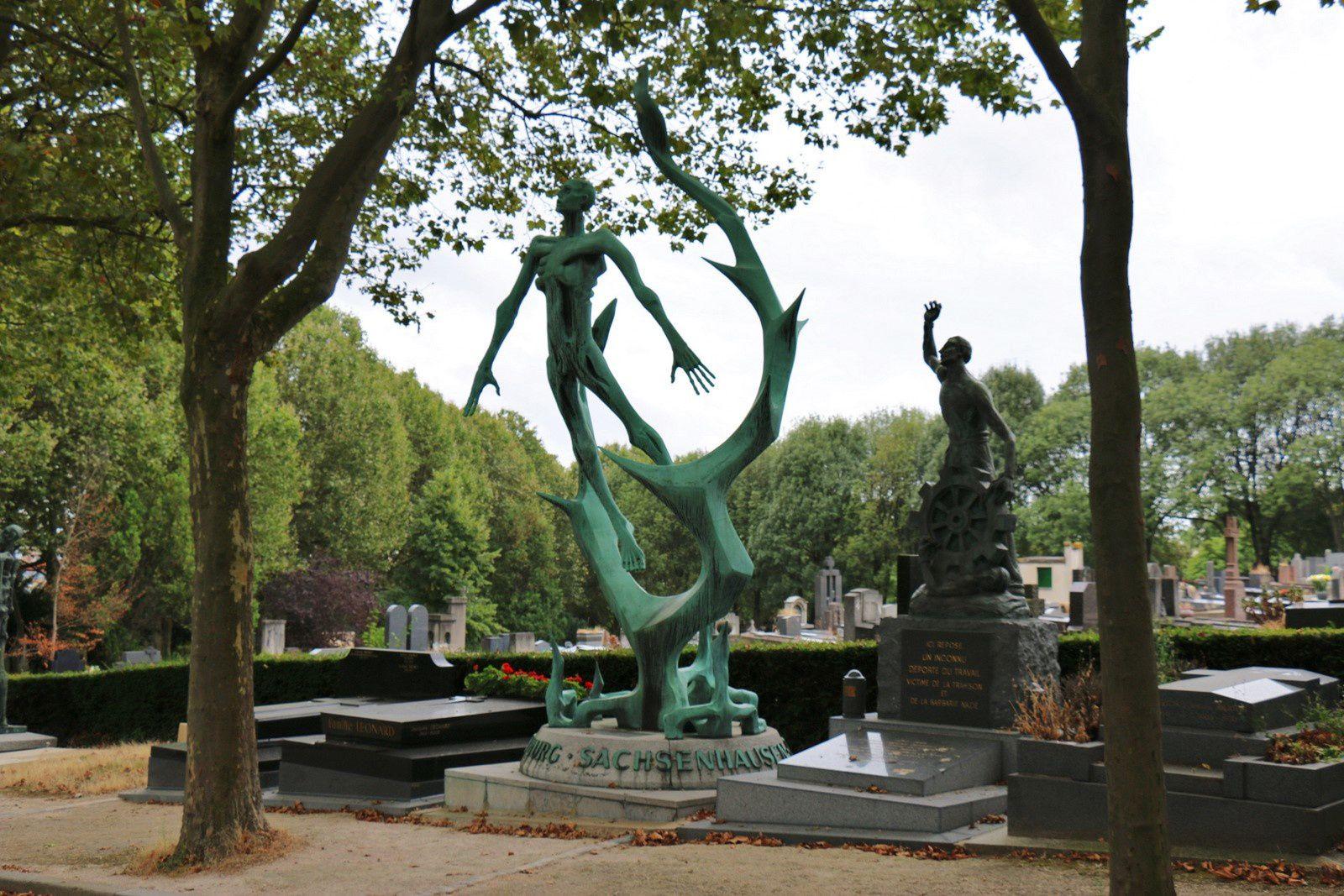 Monument d'Oranienburg-Sachsenhausen