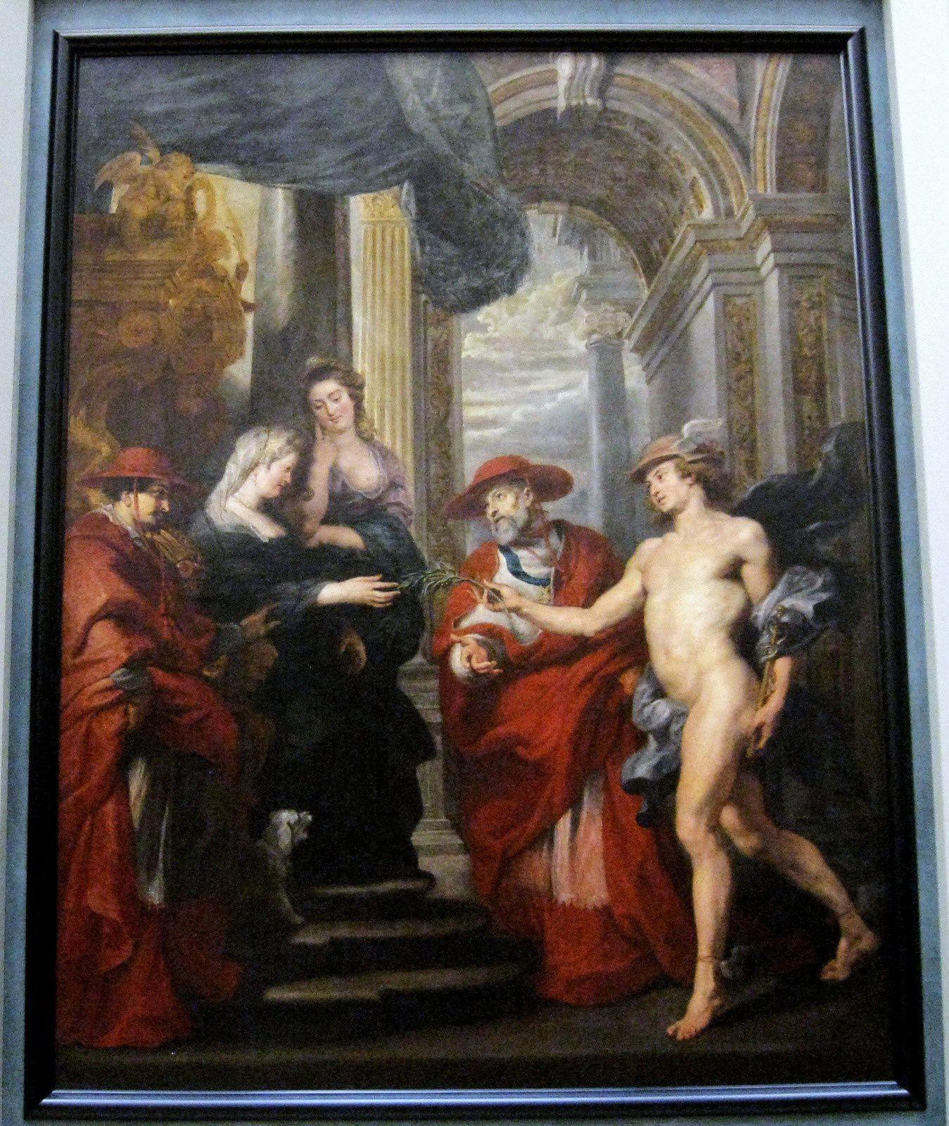 Petrus Paulus Rubens, le Traité d'Angoulême le 30 avril 1619