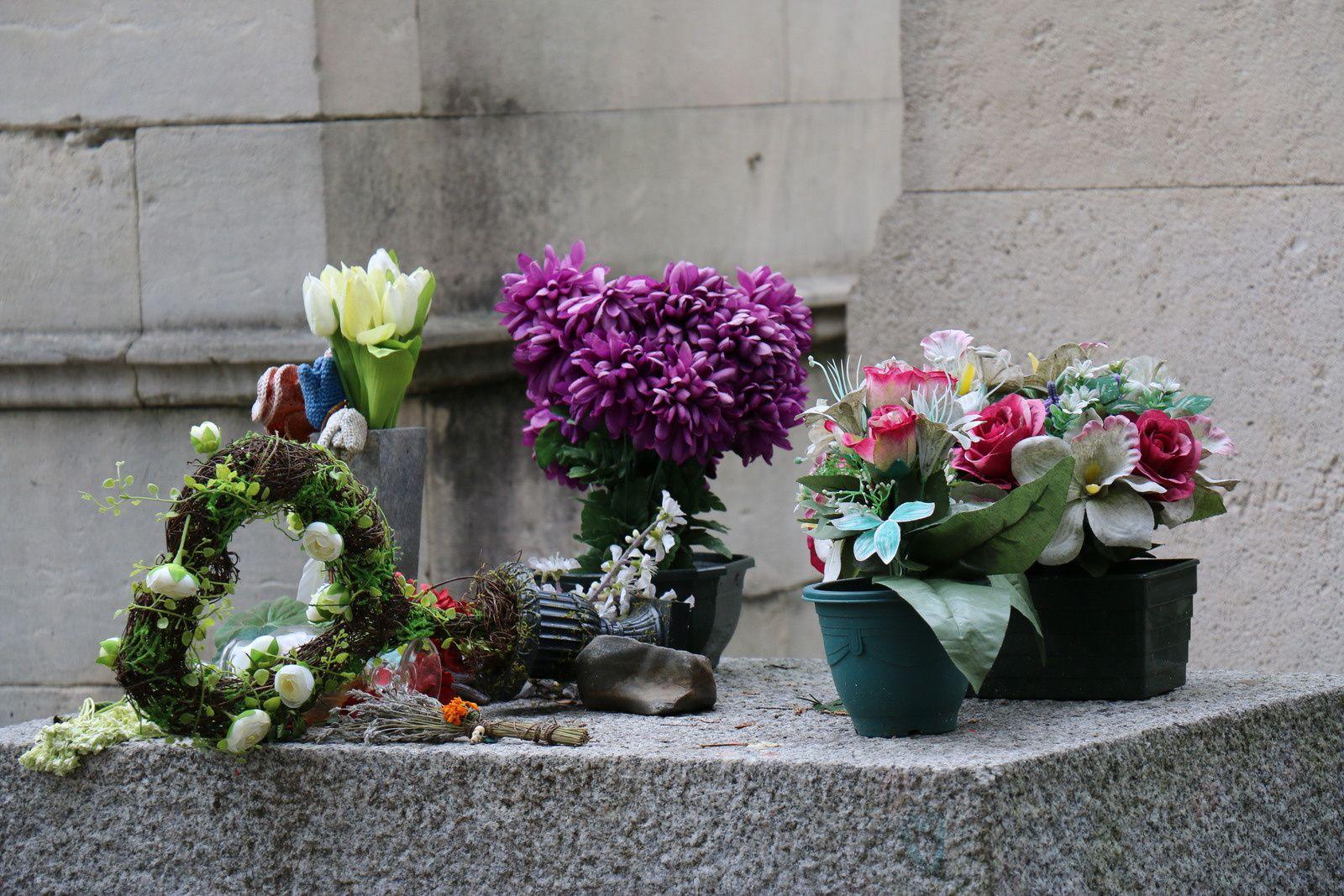 Sépulture de Jim Morrison, cimetière du Père Lachaise
