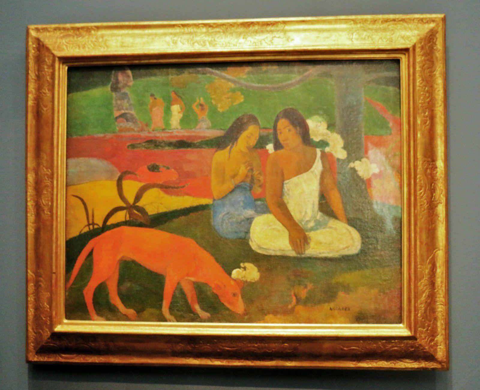 Paul Gauguin, Arearea (Joyeusetés)