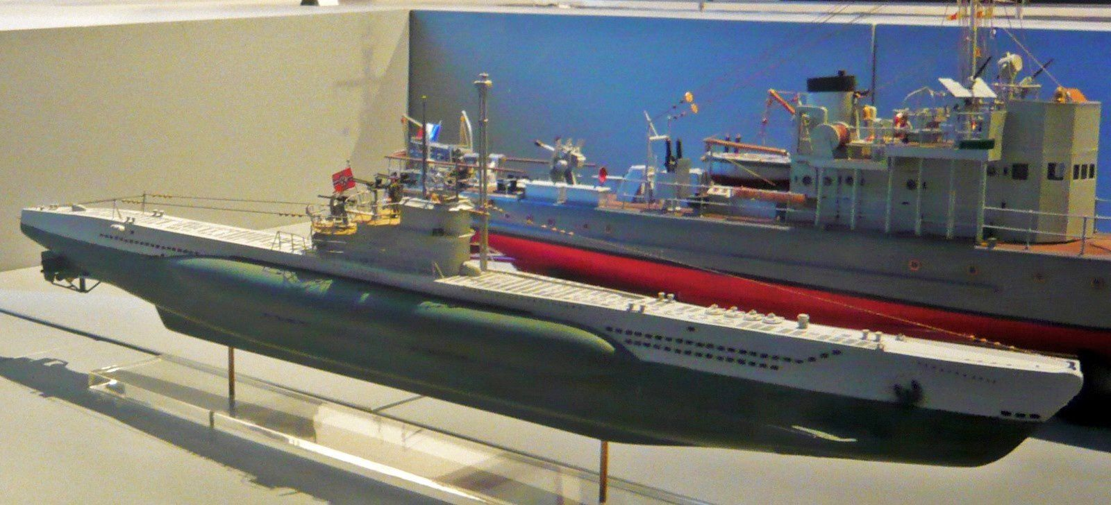 Sous-marin U-995, musée de la Marine