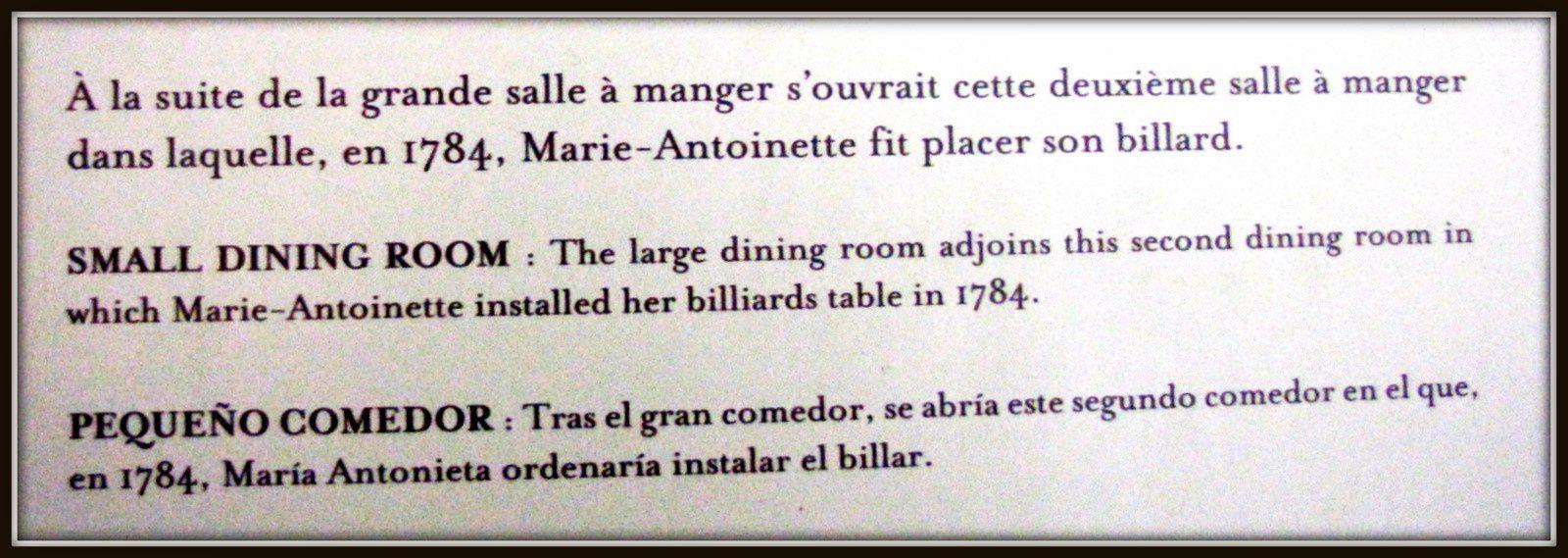 Cheminées du Petit Trianon, Versailles
