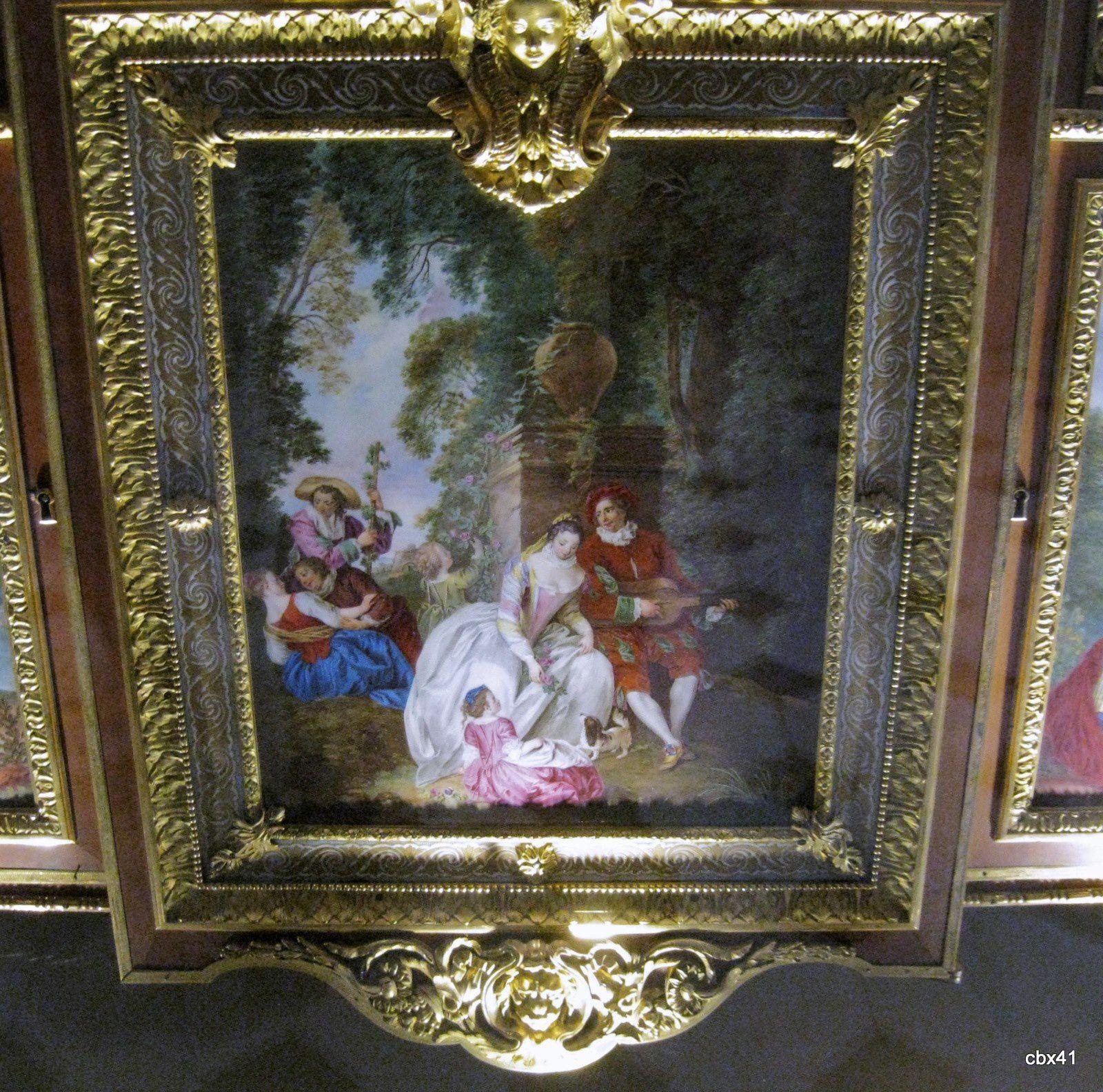 Mobilier de la salle Edmond de Rothschild (Louvre)
