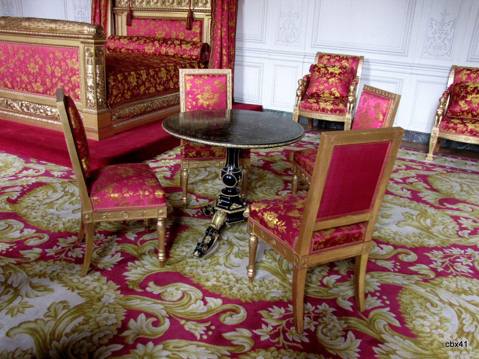 Mobilier de la chambre de la reine des Belges, Grand Trianon