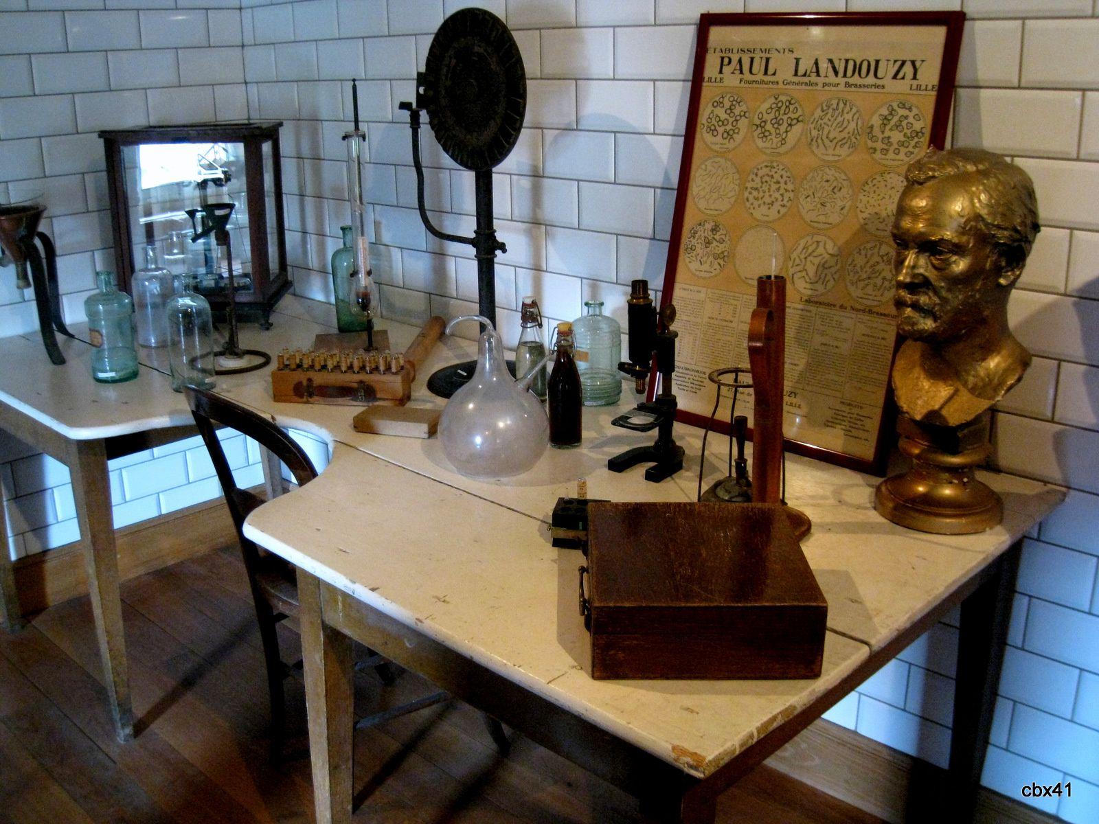 Musée de la Bière de Stenay, le laboratoire et les découvertes