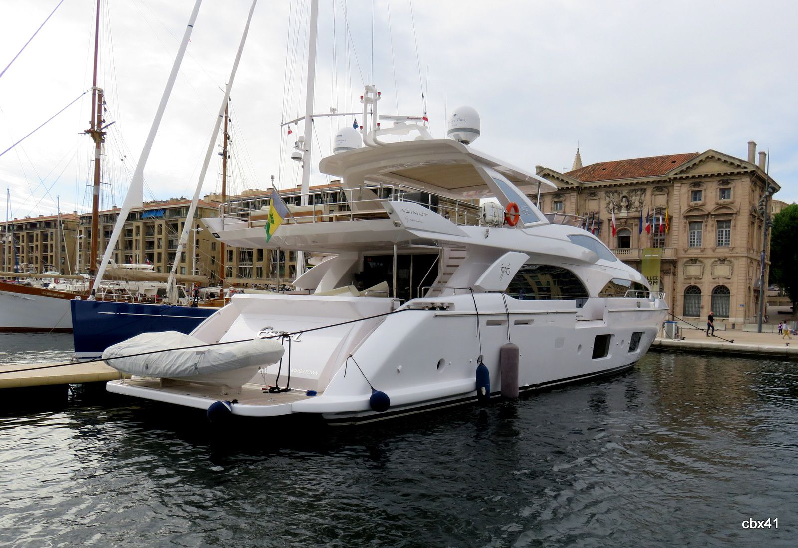 Bateaux dans le Vieux-Port de Marseille
