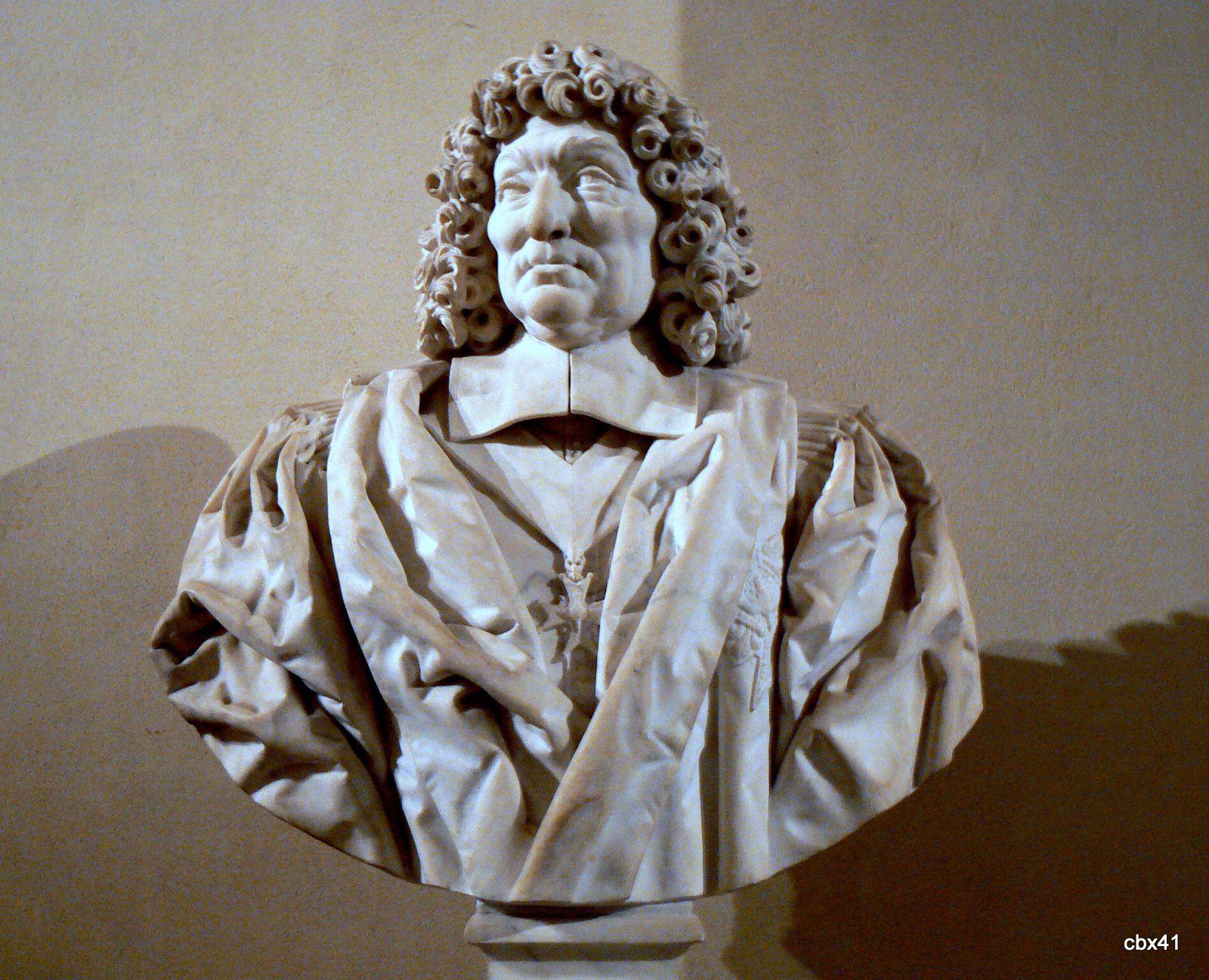 Charles Hérard, buste du chancelier Pierre Séguier
