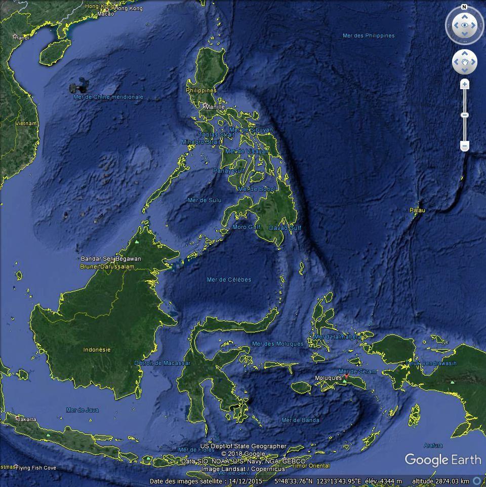 Bateau des îles Moluques et Dumont d'Urville