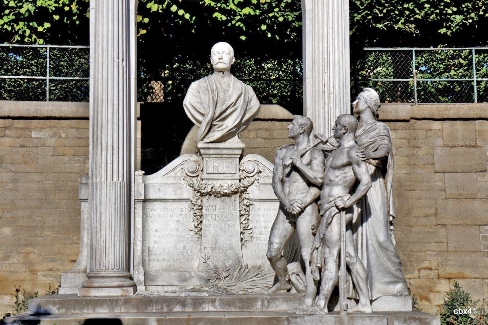 Marqueste Laurent Honoré, monument Waldeck-Rousseau