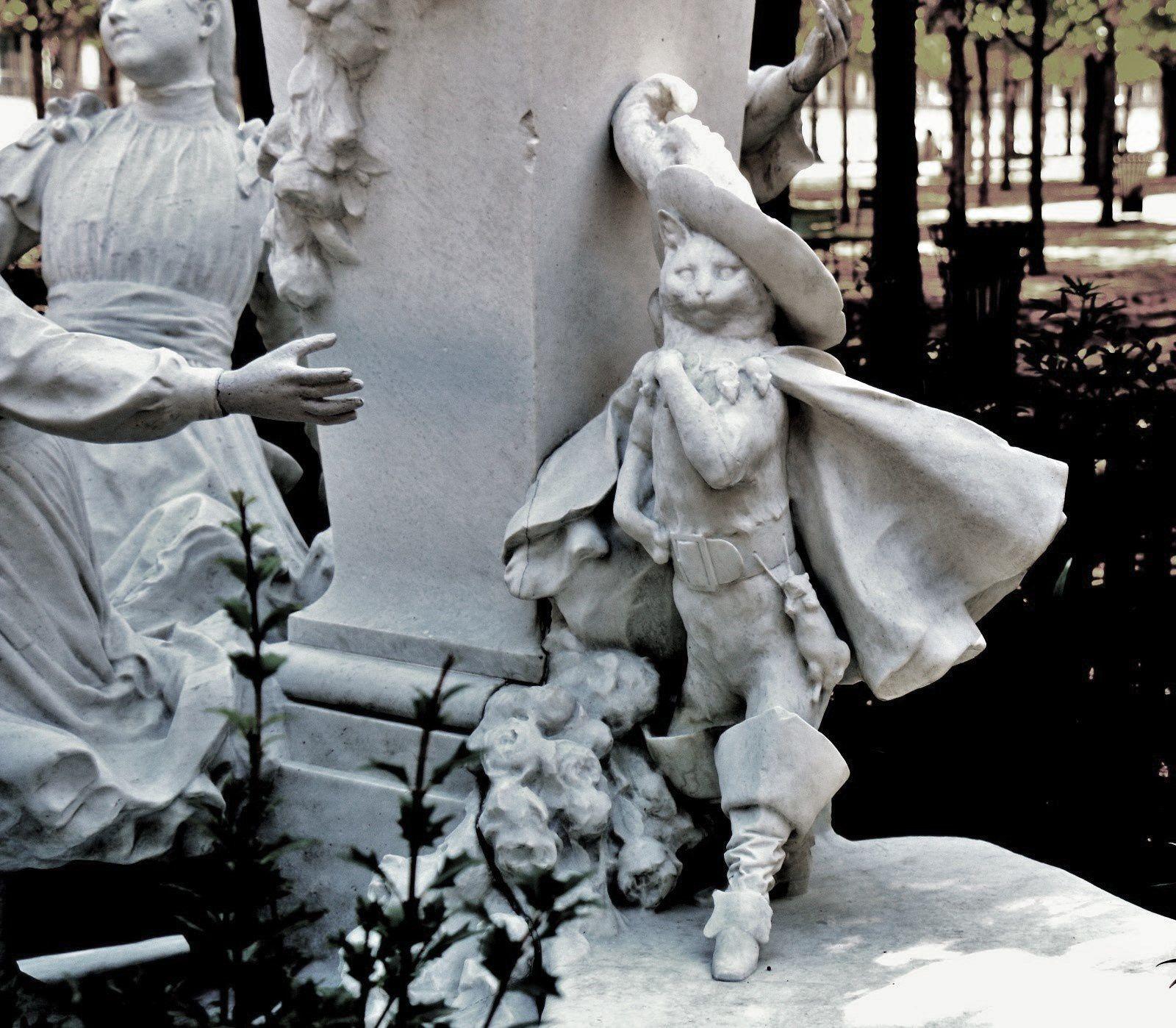 PECH Gabriel Edouard Baptiste, monument Charles Perrault