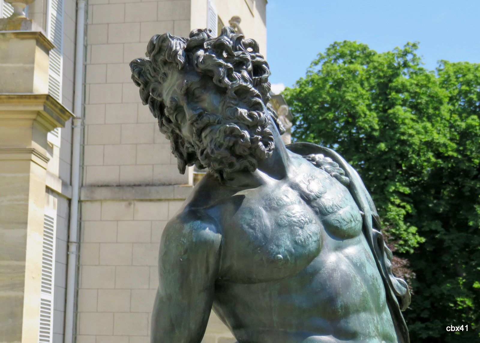 Les centaures, château de Malmaison