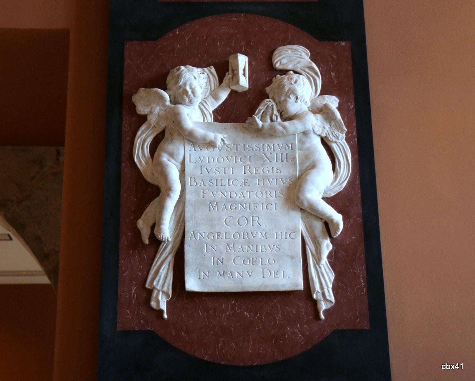 Jacques Sarazin, reliefs du monument du coeur de Louis XIII
