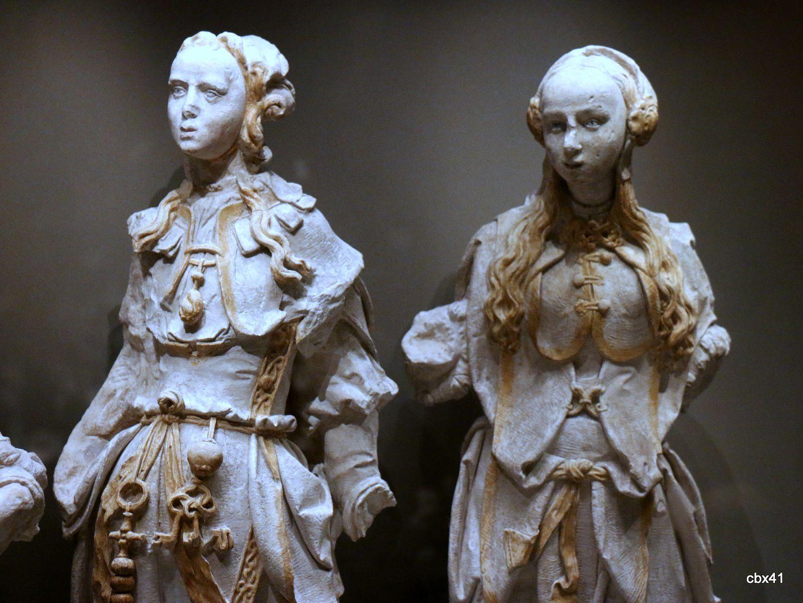 Figures de Sibylles, atelier de Jacques Juliot