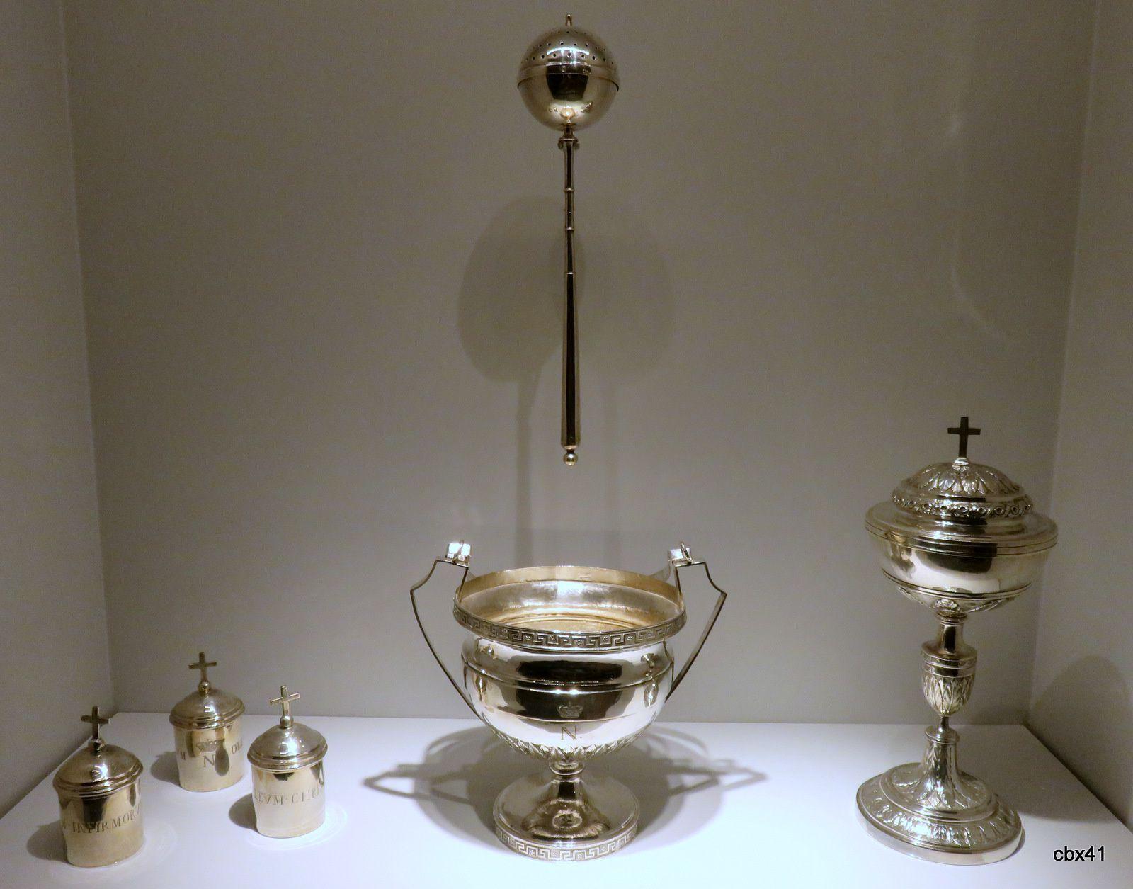 Nicolas-Richard Masson, objets liturgiques