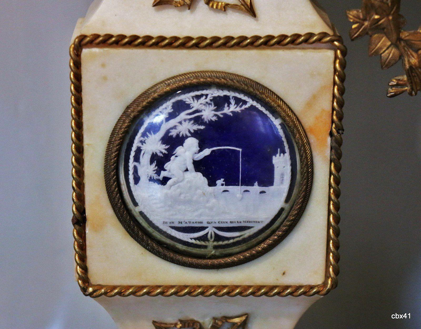 Pendule à balustre, château-musée de Dieppe