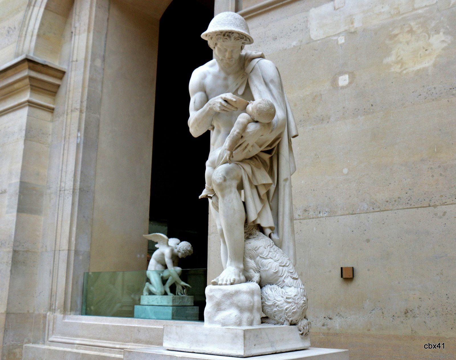 Antoine-Denis Chaudet, Œdipe enfant rappelé à la vie par le berger Phorbas
