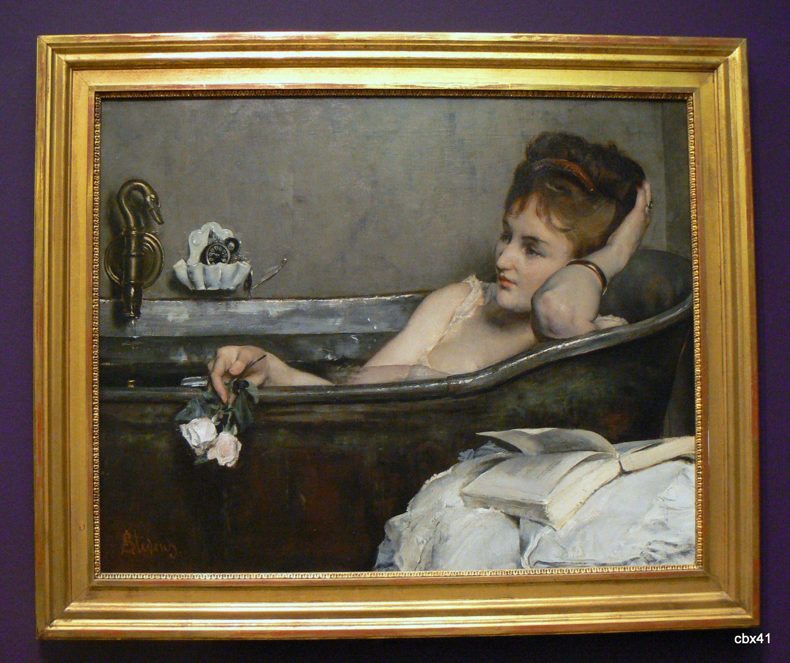 Alfred Stevens, le bain