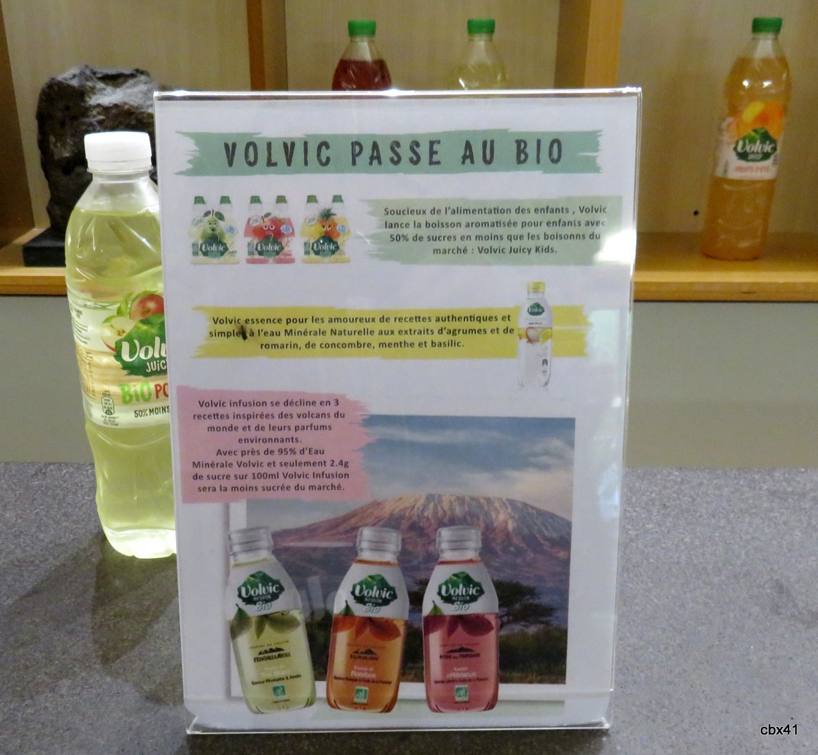 Volvic, La source