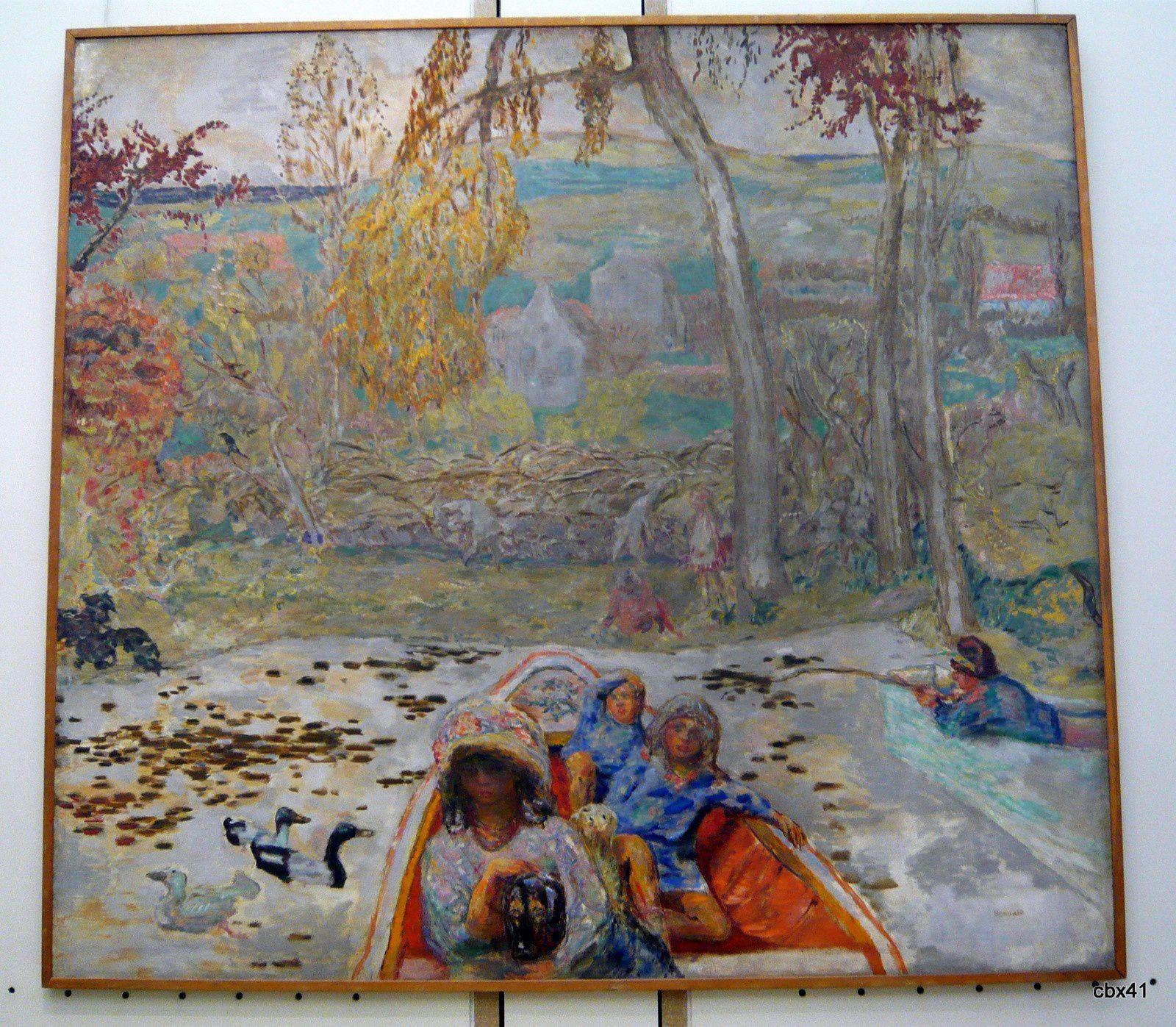 Pierre Bonnard, En barque