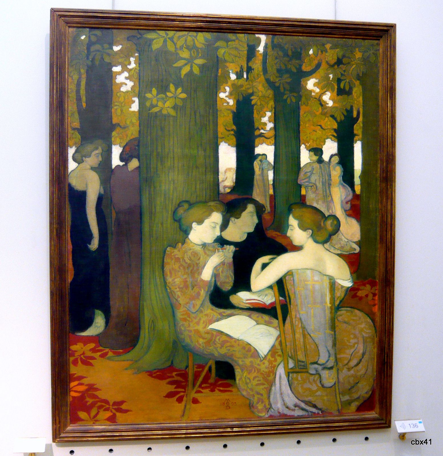 Maurice Denis, Les muses