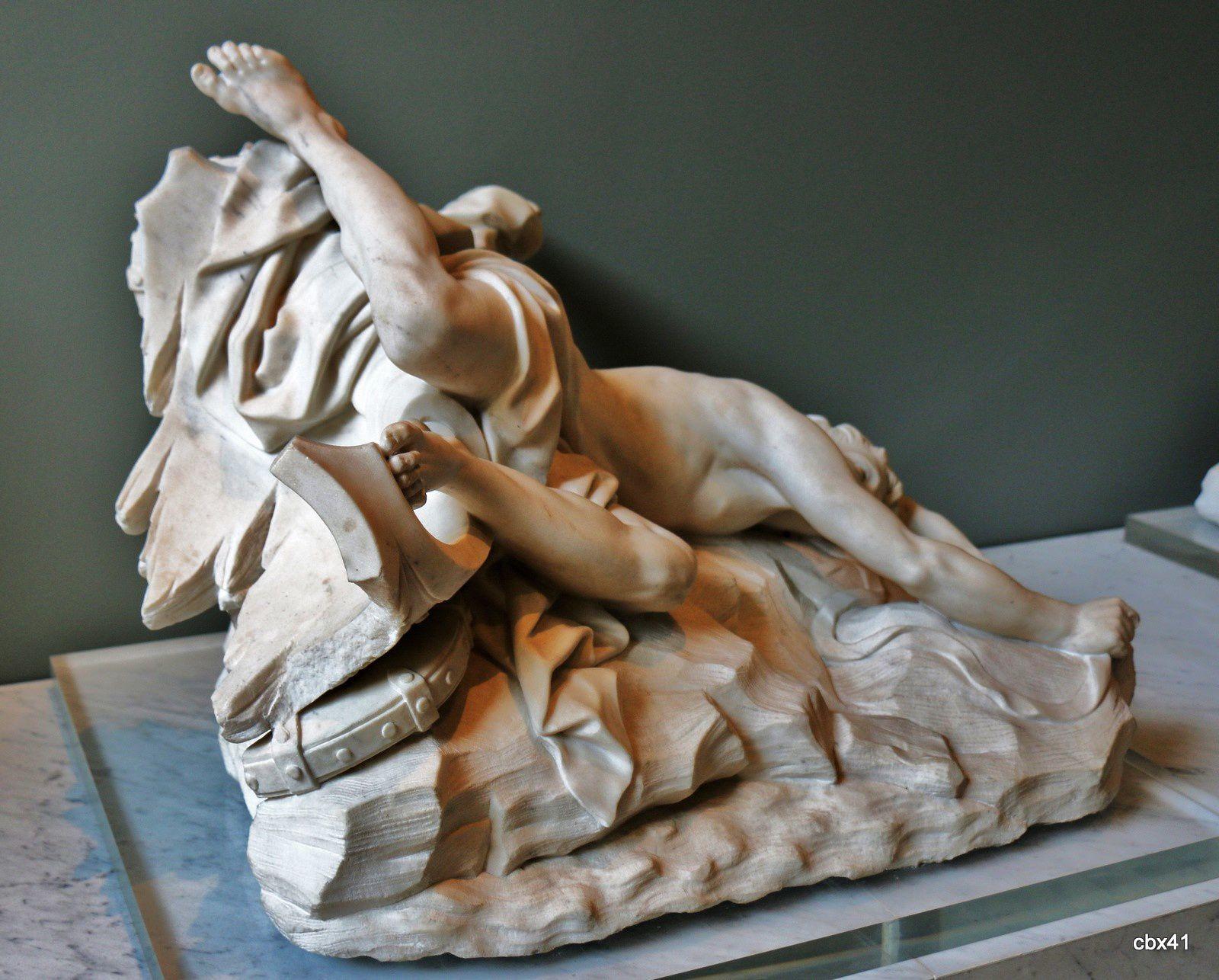 Jean-Baptiste 1er Lemoyne, La mort d'Hippolyte