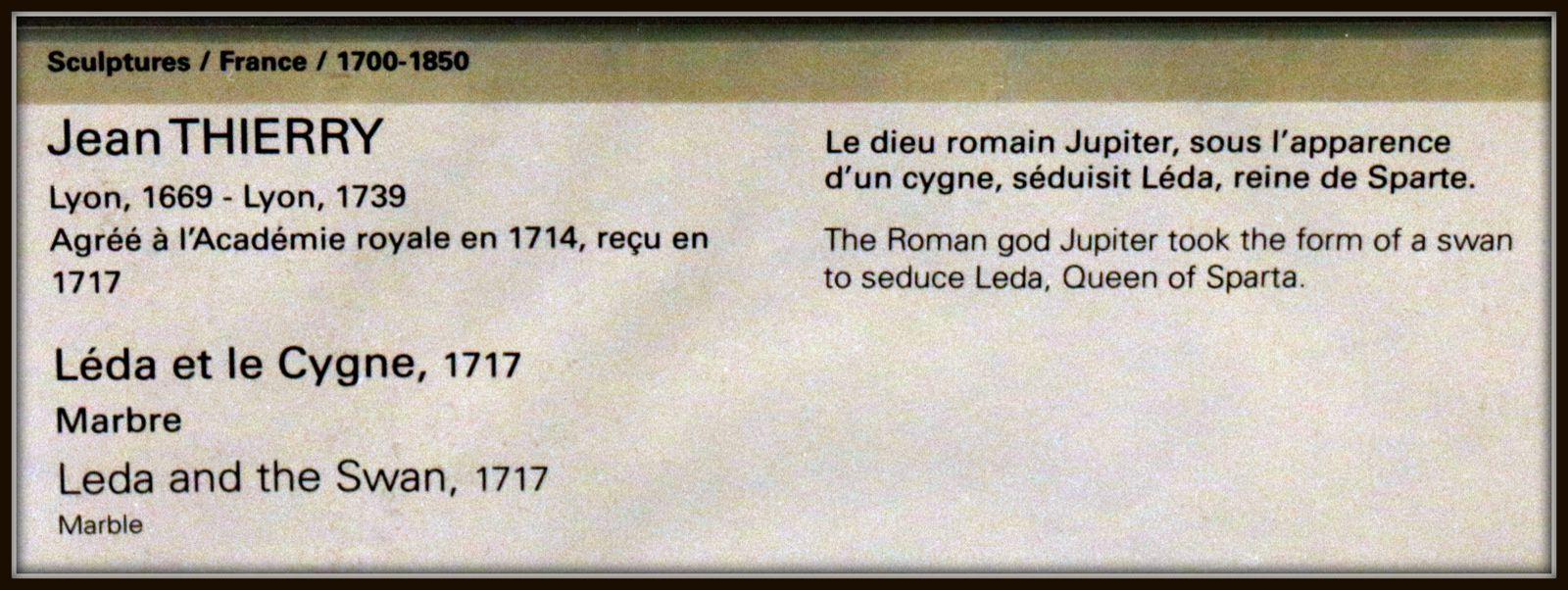 Jean Thierry, Léda et le Cygne