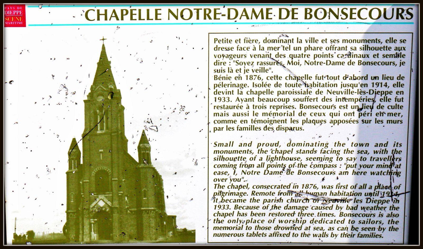 Sainte Rita, Chapelle Notre Dame de Bonsecours (Dieppe)