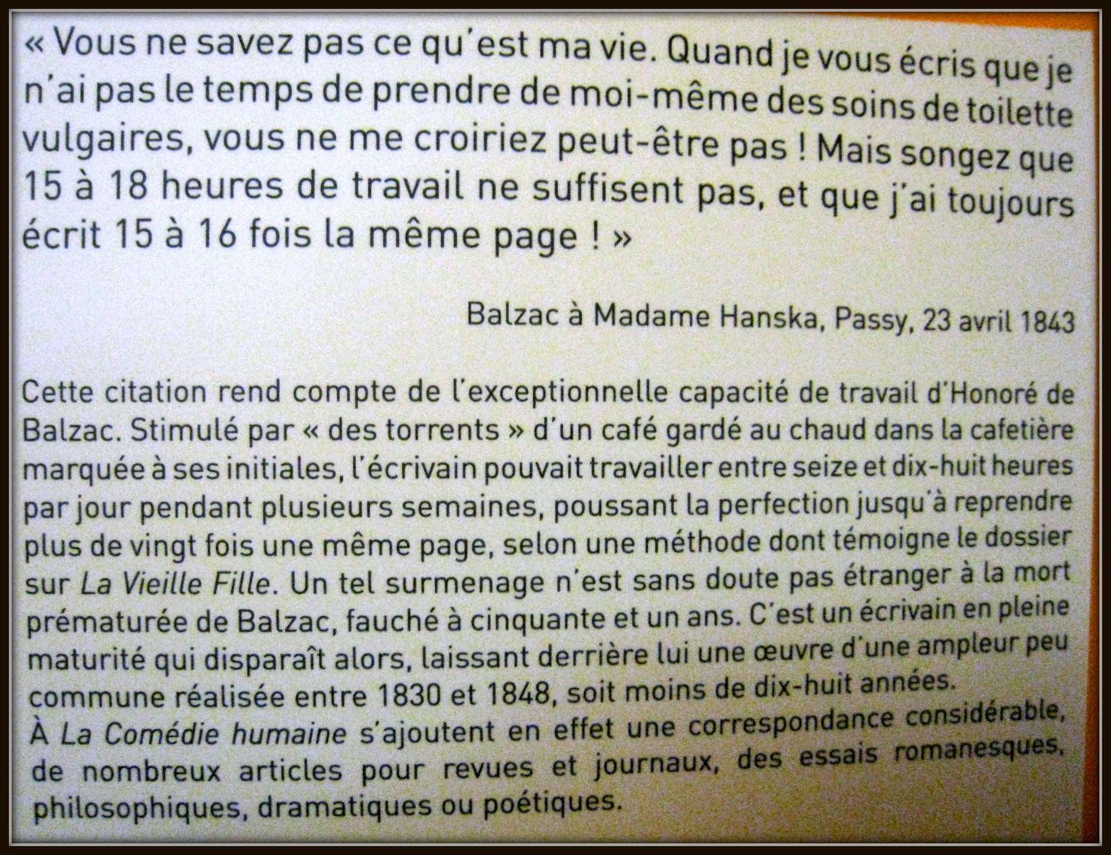 Pierre-Eugène-Emile Hébert, Honoré de Balzac