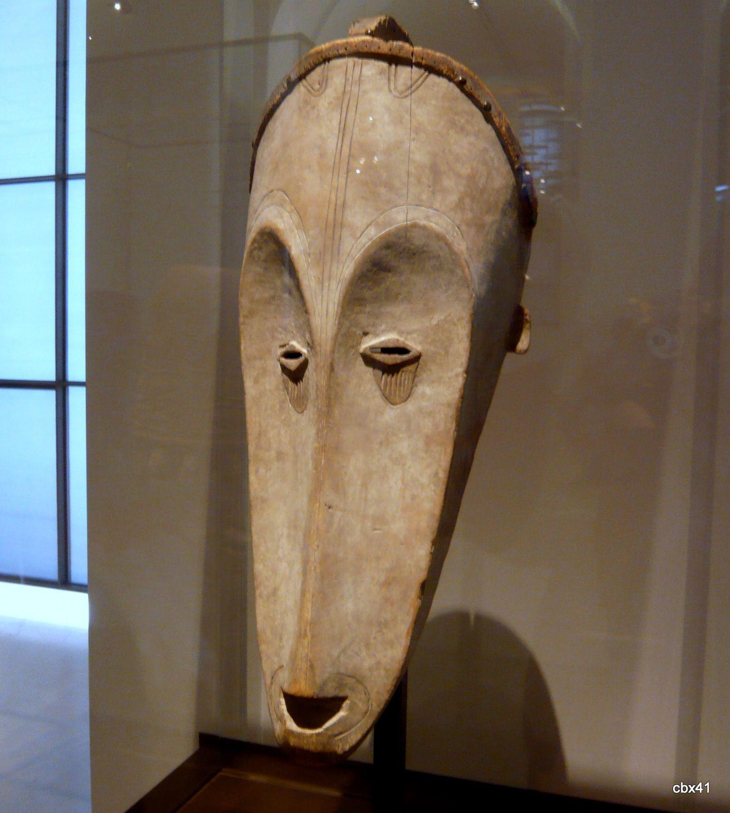 Sculpture Fang (masque du ngil), Gabon