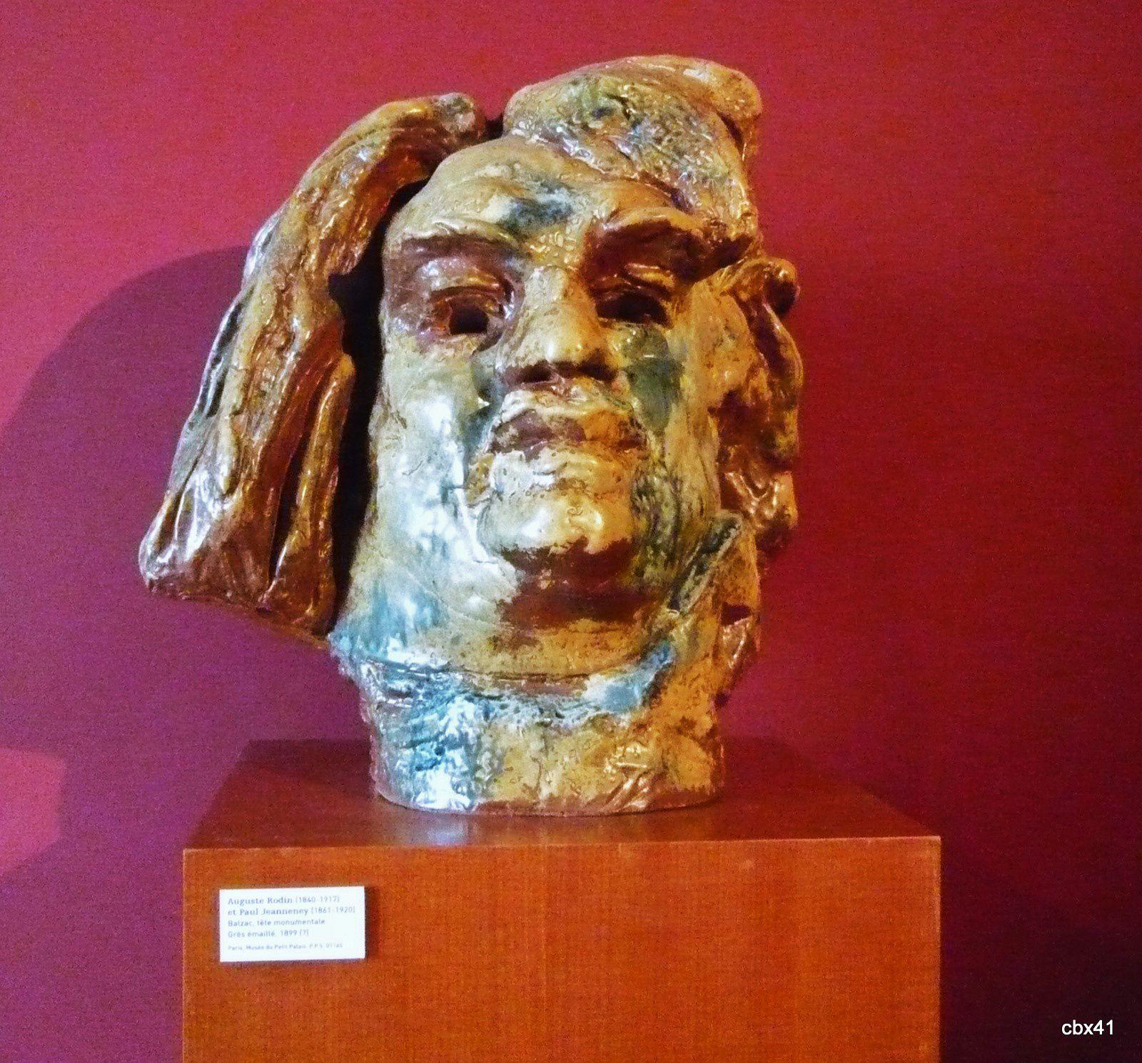 Auguste Rodin et Paul Jean Jeanneney, Tête de Balzac