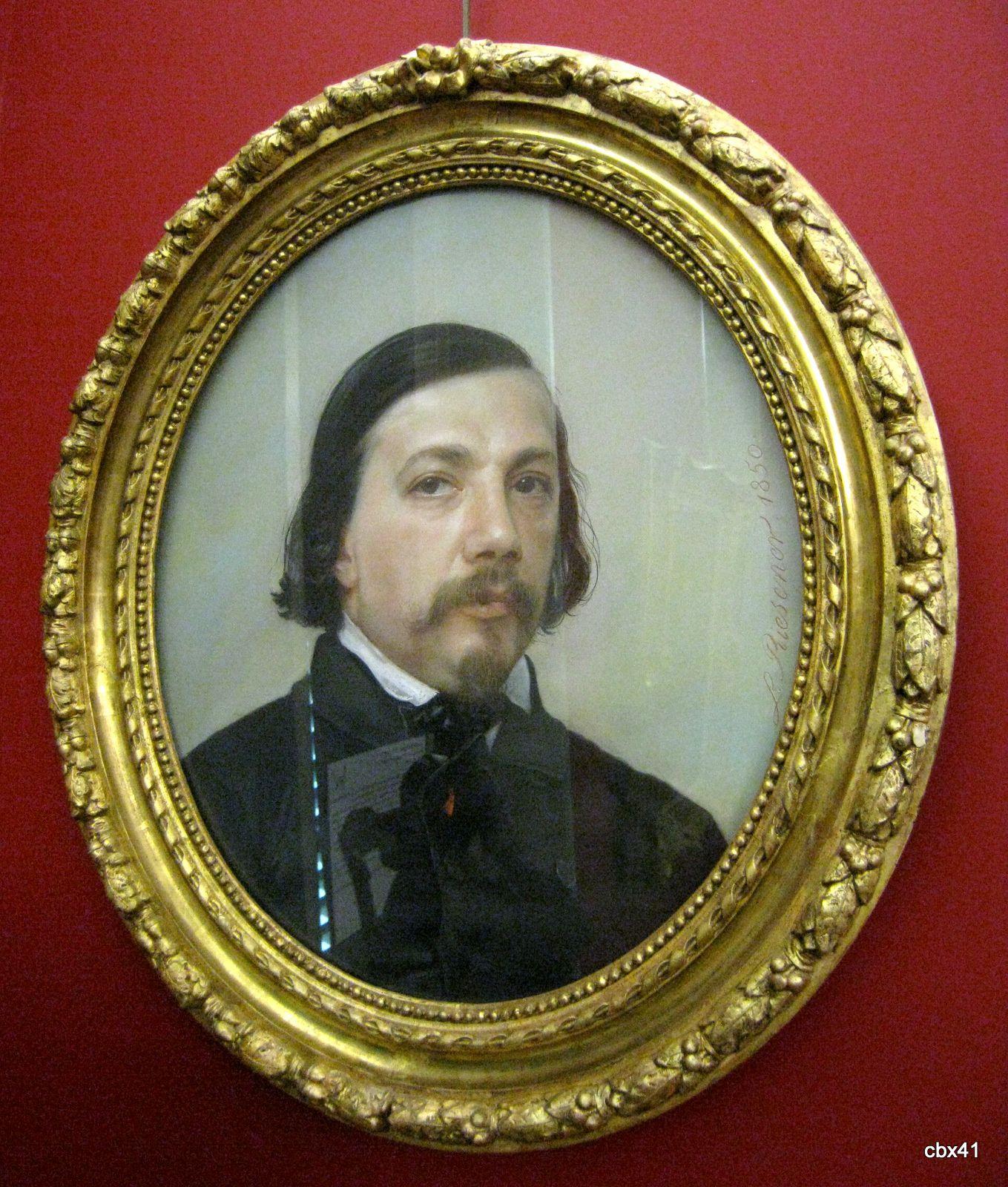 Riesener, Portrait de Théophile Gautier