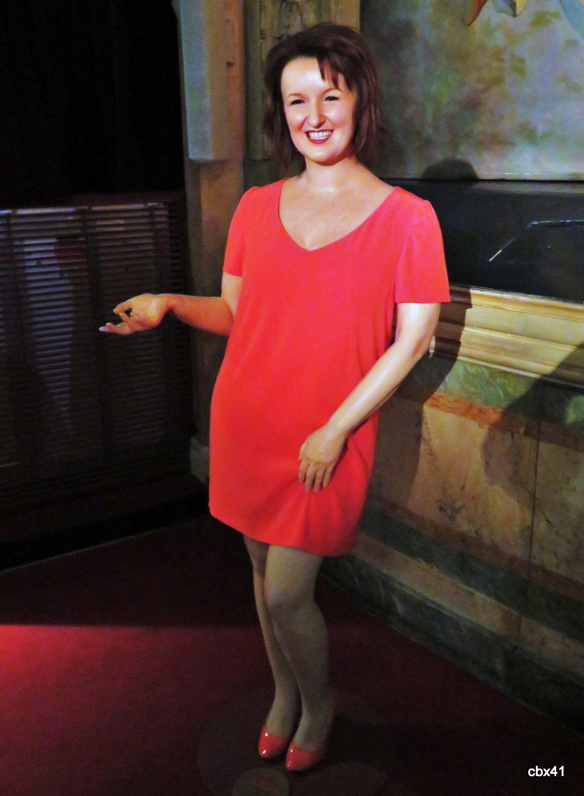 Anne Roumanoff, musée Grévin