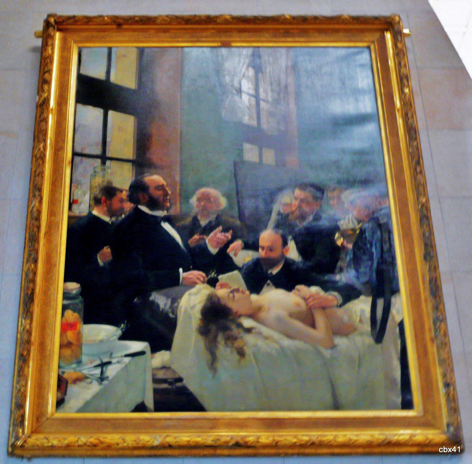 Henry Gervex, Le docteur Péan (1830-1898) enseignant à l'hôpital Saint-Louis...