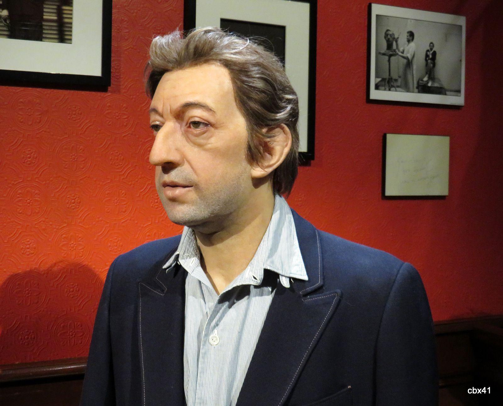 Serge Gainsbourg, musée Grévin