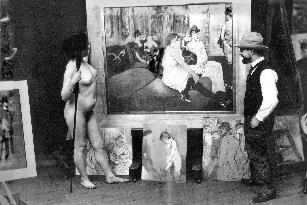 Henri de Toulouse-Lautrec, La danse au Moulin-Rouge ou La Goulue et Valentin le désossé