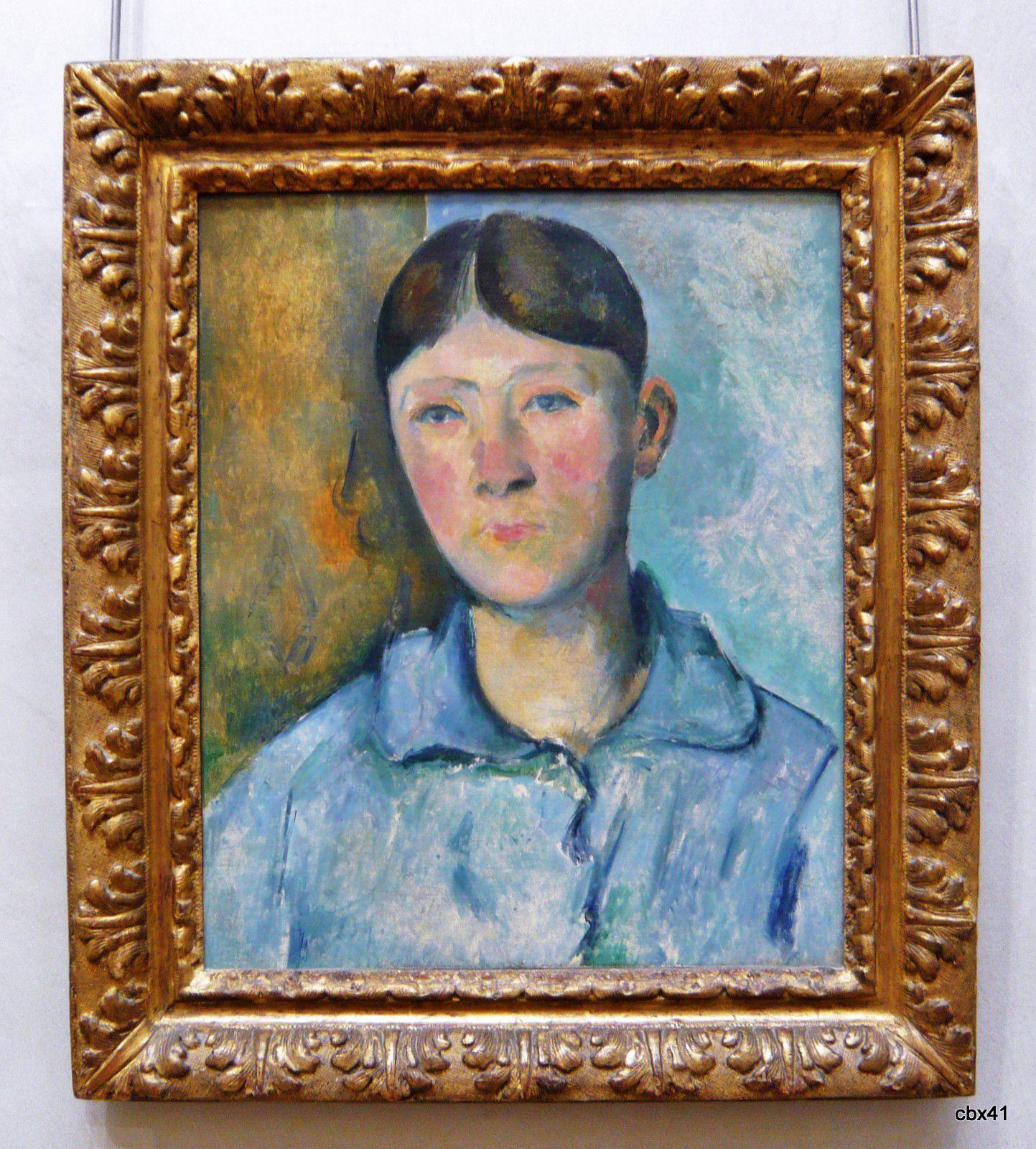 Paul Cézanne, Portrait de madame Cézanne