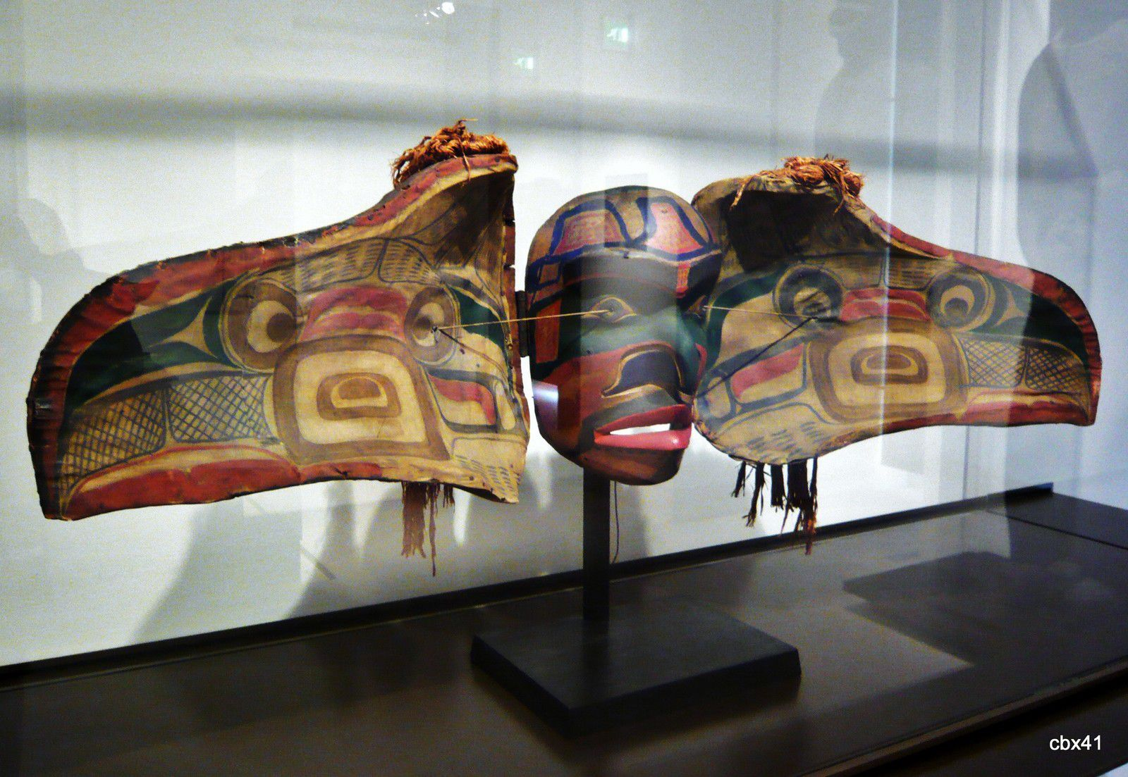 Masque à transformation Kwakwaka'wakw (Canada, Colombie britannique)