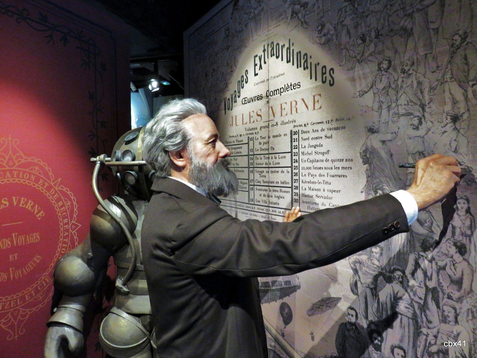 Jules Verne, musée Grévin