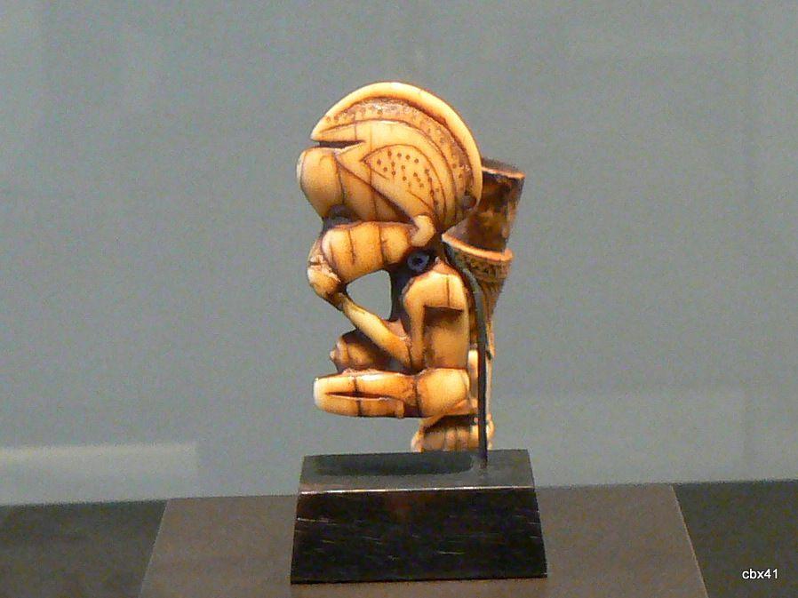 Sculpture waan, République démocratique du Congo