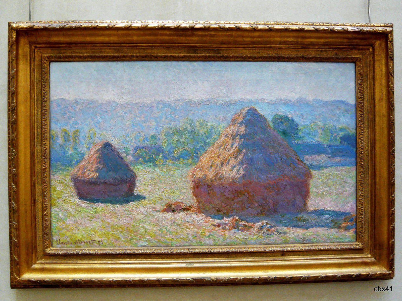 Claude Monet, Meules, fin de l'été