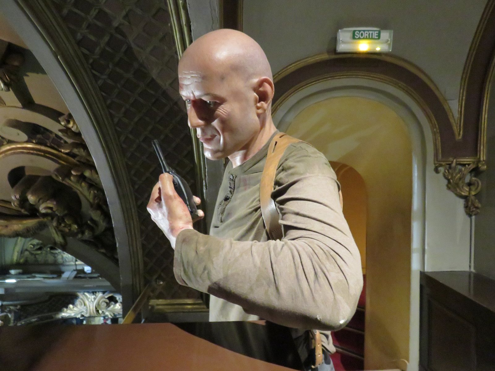 Bruce Willis, musée Grévin