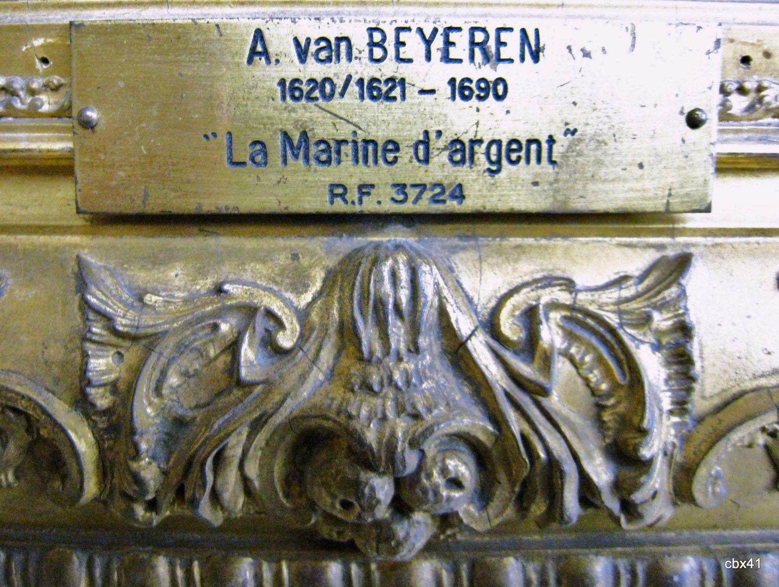 Abraham Van Beyeren, La Marine d'argent