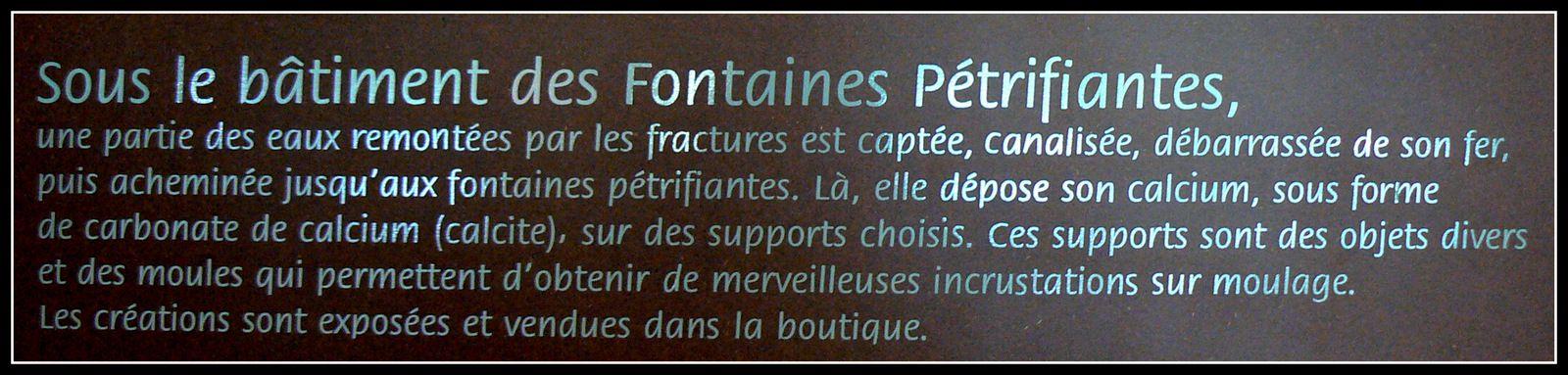 Les Fontaines pétrifiantes de St Nectaire