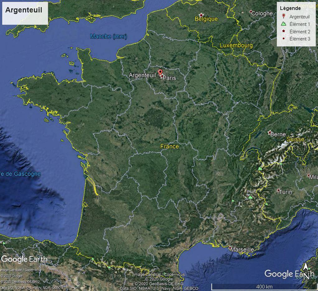 Claude Monet, Les barques, Régates à Argenteuil