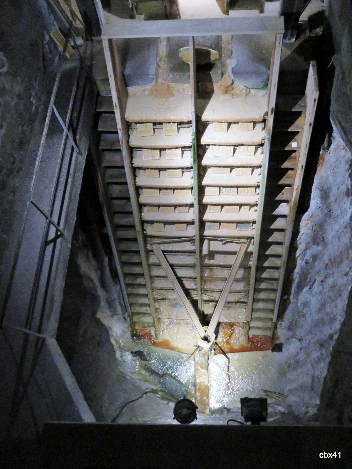 Le dépôt calcaire, Fontaines pétrifiantes de St Nectaire
