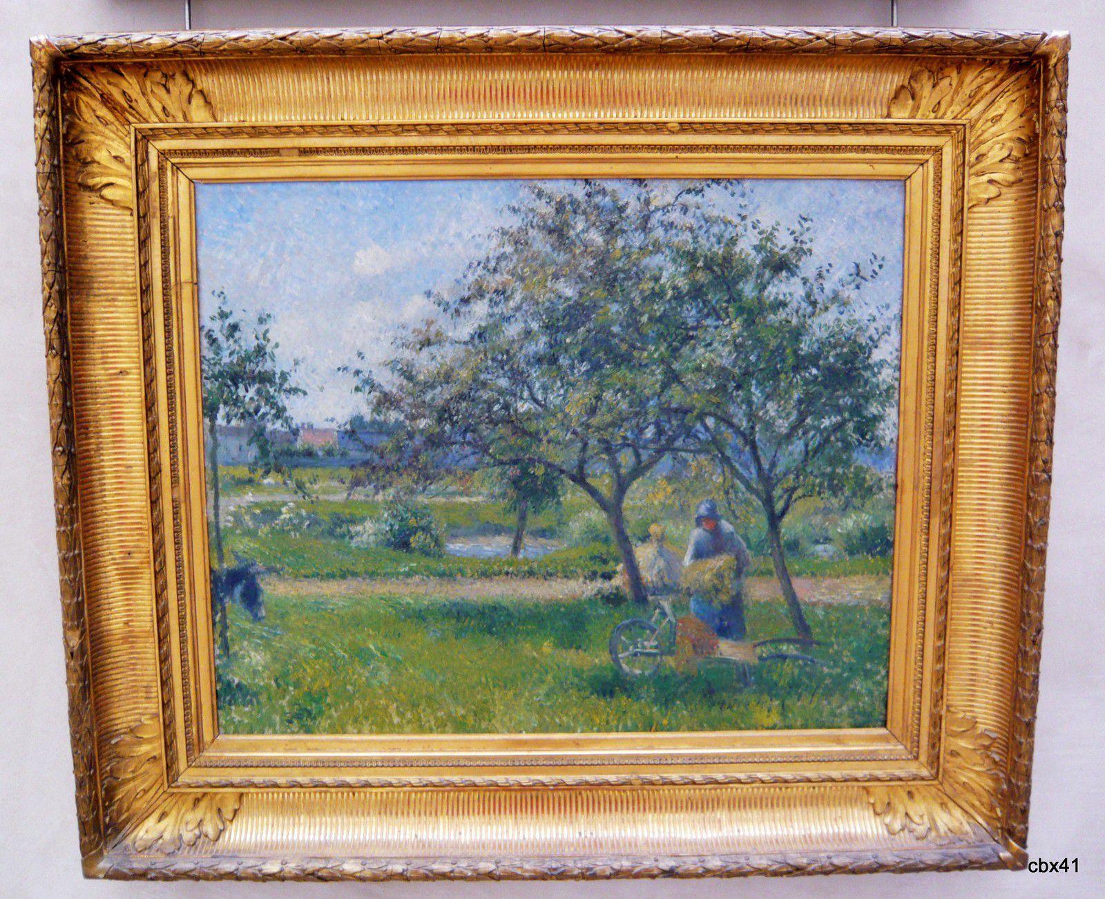 Camille Pissaro, La brouette (verger)