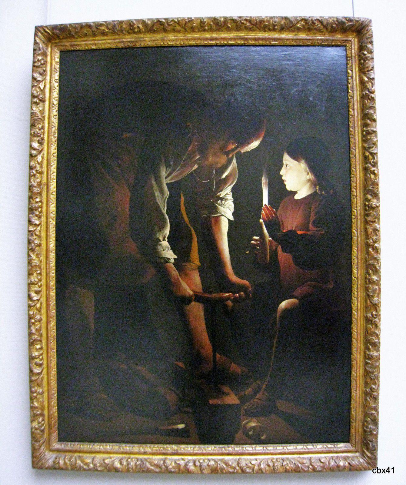 Georges de La Tour, Saint Joseph charpentier