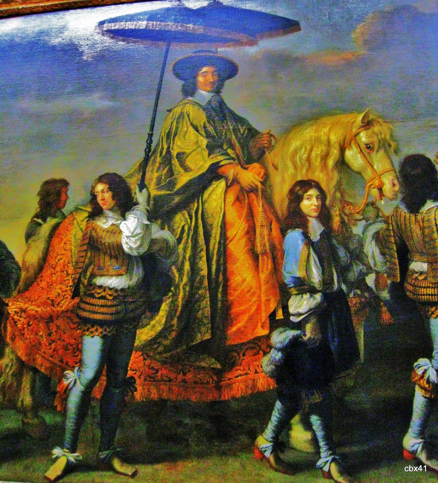 Charles Le Brun, Pierre Séguier, chancelier de France